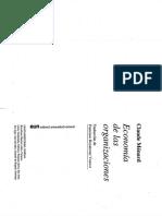 L-3.Economía de Las Organizaciones.ménard