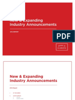 2014 New and Expanding Industries Report