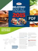 JBS Relat?rio Anual e de Sustentabilidade 2015