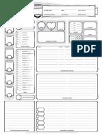 fillable D&D 5E character sheet