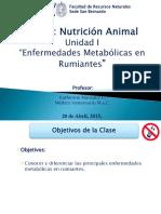 Enfermedades Metabolicas en Rumiantes