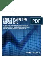 Finextra Fintech Marketing Report 2014 110914