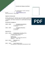 CV Fiorella 1