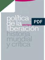 Dussel Enrique - Politica de La Liberacion I - Historia Mundial Y Critica
