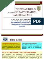 Plan de Desarrollo Urbano Participativo Laredo Al 2015