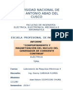 Primer Informe de Lab. de Maquinas II