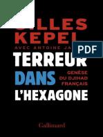 eBook Gilles Kepel - Terreur Dans l Hexagone-Genese Du Djihad Francais
