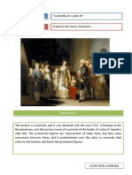 La Familia de Carlos IV en Inglés