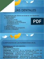 ANOMALÍAS DENTALES PPTX