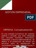 La Empresa [Gestión Empresarial] [UNSM-Tarapoto]
