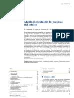 EMC - Anestesia-Reanimación Volume 39 Issue 1 2013 [Doi 10.1016%2FS1280-4703%2812%2963969-3] Chemouni, F.; Augier, A.; Gonzalez, F.; Clec'h, C.; Cohen, Y. -- Meningoencefalitis Infecciosas Del Adulto
