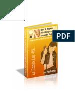 240 Ideas de Negocio Para Emprender Desde Casa 02