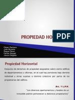 Propiedad Horizontal. Derecho. Venezuela