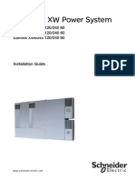 Schneider Conext XW Power System Installation Guide Rev f Eng