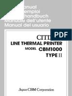 CBM1000II Users Manual 02E