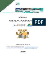 Trabajo Colaborativo y Google Drive