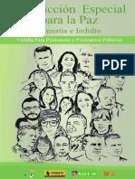Cartilla Jurisdicción Especial para la Paz, para Prisioneras y Prisioneros Políticos