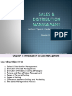 Final Sales & Distribution Management