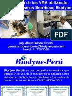 tratamiento con microorganismos