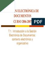 ADMINISTRACION ARCHIVOS ELECTRONICOS