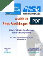 AnalisisRedesSatelitalesREDDIGII INSA SES