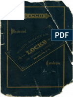 Wilson Bohannan Locks Catalog - 1880