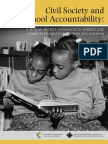 Civil Society and Sch Accoutnability
