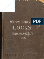 Wilson Bohannan General Line lock Catalog - 1900