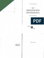 Wrigth Mills - La Imaginación Sociológica