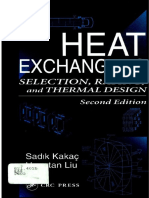 Heat Exchangers - Selection Rating and Thermal Desgin