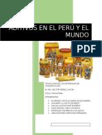 Aditivos en Peru y El Mundo