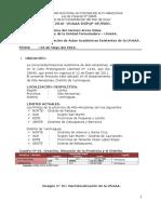 Informe 01 - UNAAA