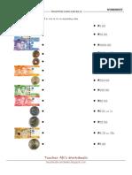 Philippine Bills and Coins - 1