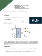 prática 3 - microncontroladdores