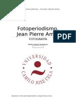 El Fotoperiodismo de Jean Pierre Amar