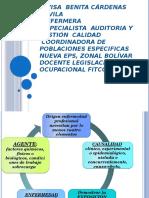 Enfermedades Profesionales en Colombia Mayo 14