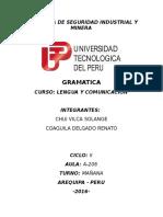 Monografia de Gramatica