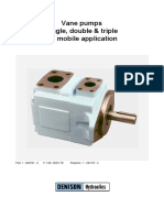 Parker (T6,T6D) Hydraulic Vane Pumps
