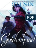 Goldenhand by Garth Nix - longer excerpt
