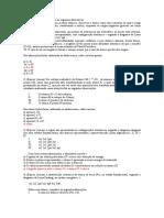 Lista 2 de exercicios quimica jp