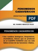 FENOMENOS CADAVERICOS 2015