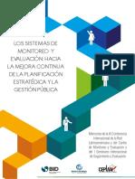 Sistemas Monitoreo y Evalacion Hacia La Mejora Continua de La Planificacion Estrategica