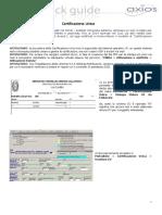 QGRET Certificazione Unica