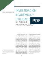 Di Bello - Investigación Académica y Utilidad Social