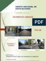 pavimentos urbanos