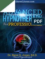 Advanced Hypnotherapy Steve g Jones eBook