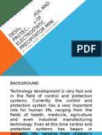 Design Control and Protection of Electrostatic Precipitator Mini