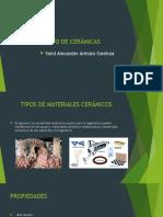 5. Procesamiento de Ceramicos
