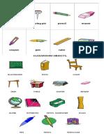 Utiles Escolares en Ingles