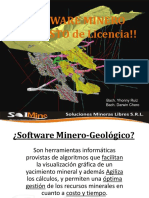 Exposicion Software Minero SolMine SRL
